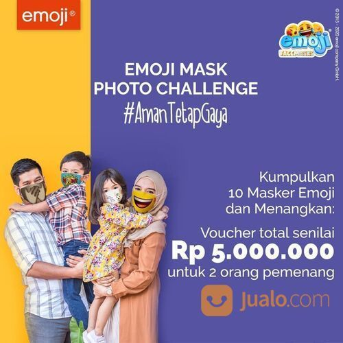 Giant Photo Challenge Emoji Mask (29158465) di Kota Jakarta Selatan