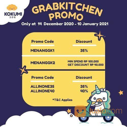 Kokumi Sambut hari Senin bersama GrabKitchen Promo (29162537) di Kota Jakarta Selatan
