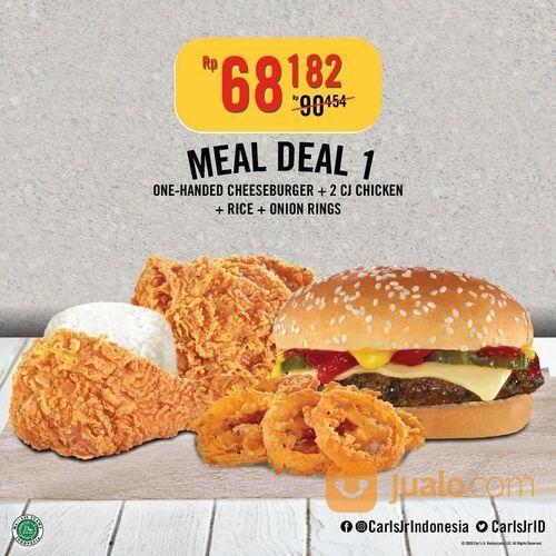 Carl's Jr Khusus Grabfood, Gofood, juga melalui ONE STOP CJ dengan GRATIS biaya delivery. (29162569) di Kota Jakarta Selatan