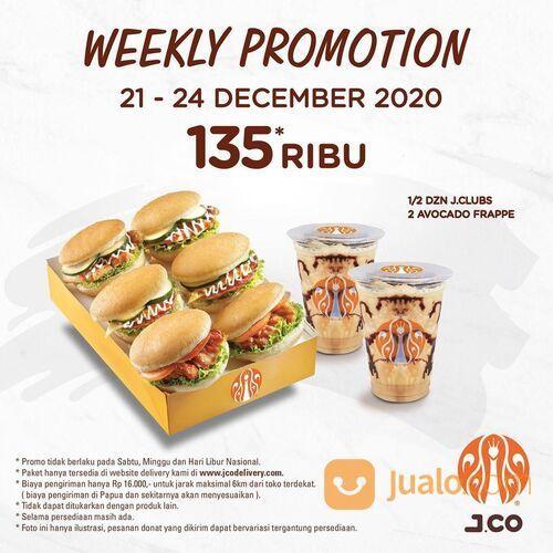 J.Co Weekly Promotion 135 Ribu* (29162712) di Kota Jakarta Selatan