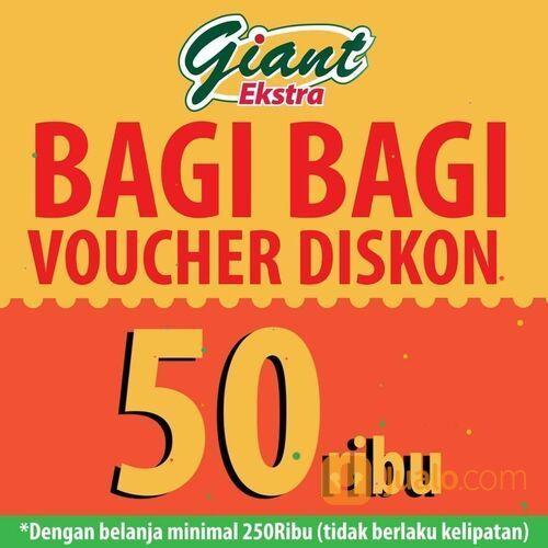 Giant Dapatkan Voucher potongan senilai Rp50.000 dengan belanja di Giant Ekstra minimal Rp.250.000 (29162729) di Kota Jakarta Selatan