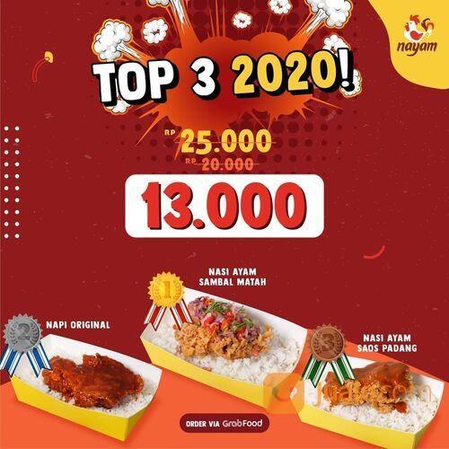 Nayam PROMO TOP 3 BEST SELLER!! (29163159) di Kota Jakarta Selatan