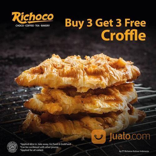 Richoco PROMO BUY 3 GET 3 FREE CROFFLE (29163624) di Kota Jakarta Selatan