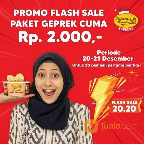 Ayam Keprabon FLASH SALE AKHIR TAHUN 20.20 !! PAKET GEPREK KEPRABON CUMA 2.000 !! (29163653) di Kota Jakarta Selatan