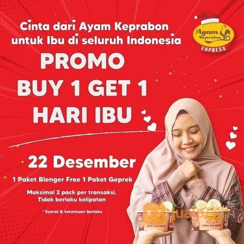 Ayam Keprabon PROMO BUY 1 GET 1 FREE SPESIAL HARI IBU DARI AYAM KEPRABON (29163658) di Kota Jakarta Selatan