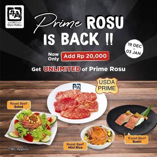 Gyu-Kaku PRIME ROSU IS BACK! (29163827) di Kota Jakarta Selatan