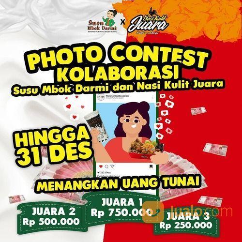 Photo Contest Kolaborasi Nasi Kulit Juara x @susu_mbokdarmi (29163841) di Kota Jakarta Selatan