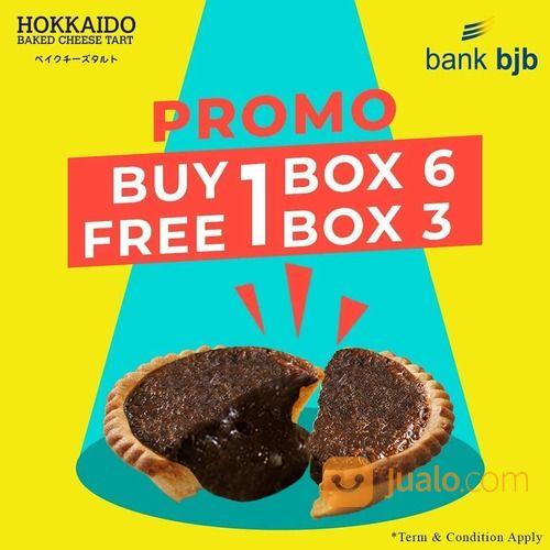 HOKKAIDO PROMO Pembelian 1 Hokkaido Isi 6, Free 1 Box Hokkaido Isi 3 (29164527) di Kota Jakarta Selatan