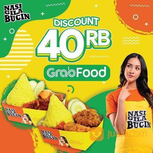 NASI GILA BUCIN DISKON 40RB - GRABFOOD NASI GILA BUCIN (29165091) di Kota Jakarta Selatan