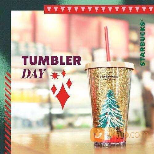 Starbucks Bawa Tumbler Official Starbucks ke gerai dan nikmati minuman favorit hanya setengah harga! (29168243) di Kota Jakarta Selatan