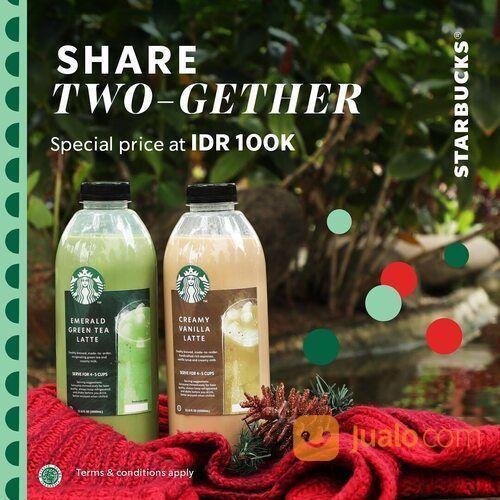 Starbucks 1L yang bisa dinikmati bersama! Khusus hari ini, nikmati Paket kemasan 1L hanya Rp100ribu! (29168373) di Kota Jakarta Selatan