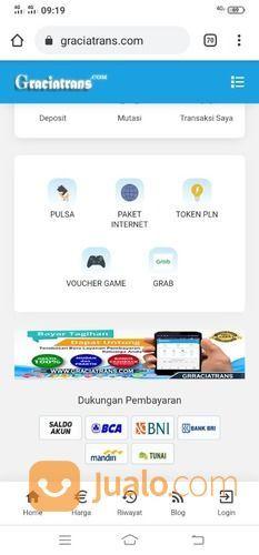 Website Pulsa Otomatis - Script Pulsa Otomatis (29168382) di Kab. Tangerang