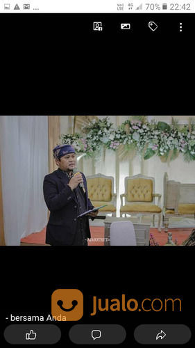 JASA MC AKAD NIKAH DAN MC RESEPSI PERNIKAHAN (29189309) di Kab. Bogor