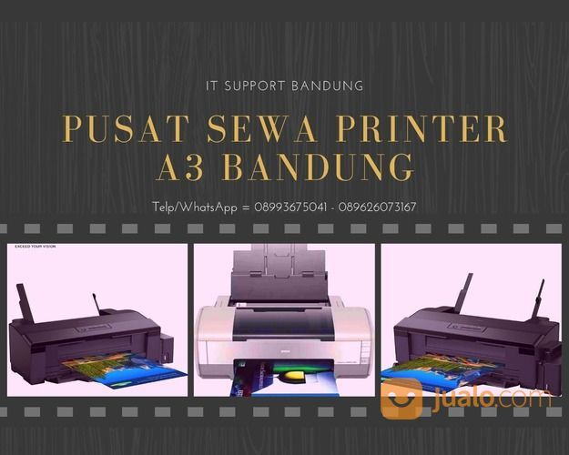 Rental Printer A3 Inkjet Warna Bandung (29191323) di Kota Bandung