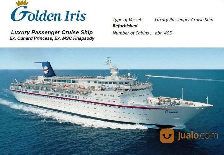 """Kapal Pesiar """"GOLDEN IRIS"""" Luxury Passenger Cruise Ship (29192633) di Kota Batam"""