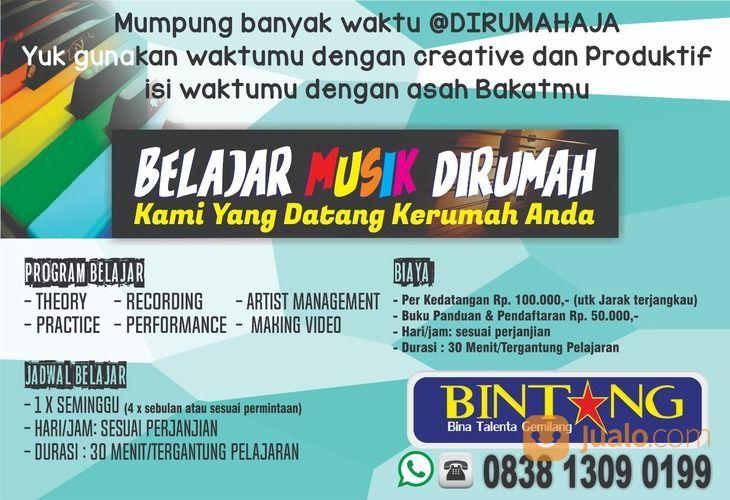 KURSUS MUSIK (Guru Bisa Datang Kerumah) (29194676) di Kota Tangerang Selatan