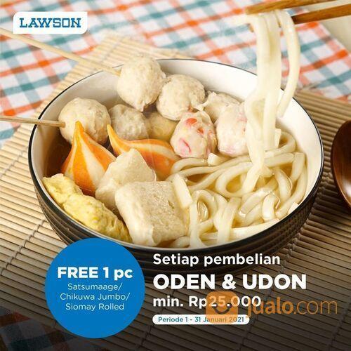 LAWSON Promo Beli Oden Gratis Oden Dengan Minimal Jajan 25.000 (29214773) di Kota Jakarta Selatan