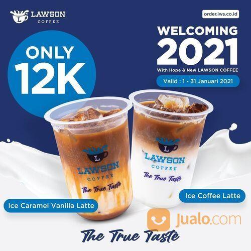 LAWSON Promo Hanya 12k Sudah Bisa Dapetin Ice Cramel Vanilla Latte Atau Ice Coffee Latte (29214780) di Kota Jakarta Selatan