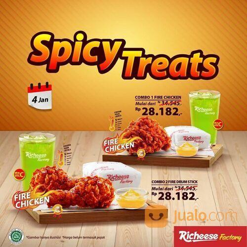 Richeese COMBO HEMAT AWAL TAHUN - SPICY TREATS!! (29214786) di Kota Jakarta Selatan