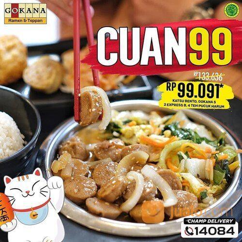 Gokana Promo CUAN minggu ini, berempat CUma 99rb-AN! Hanya dengan 99rb* (29220434) di Kota Jakarta Selatan