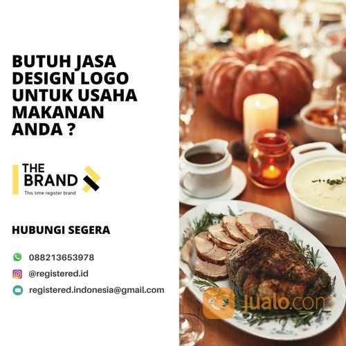 Design Logo Makanan Terkenal (29232026) di Kota Tangerang Selatan