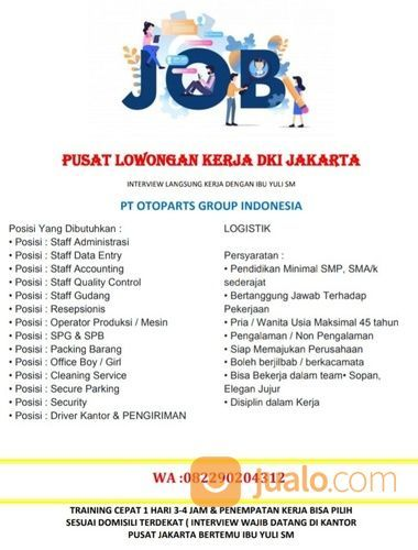 Lowongan Kerja Staf Gudang Jakarta Utara 2021 Min Sma K Jakarta Utara Jualo
