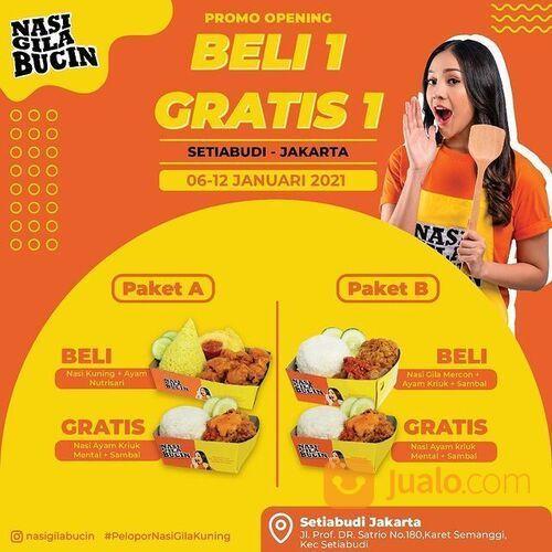 BELI 1 GRATIS 1 NASI GILA BUCIN di SETIABUDI - JAKARTA (29242201) di Kota Jakarta Selatan