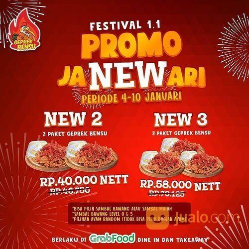 Geprek Bensu PROMO jaNEWari masih ada (29242278) di Kota Jakarta Selatan