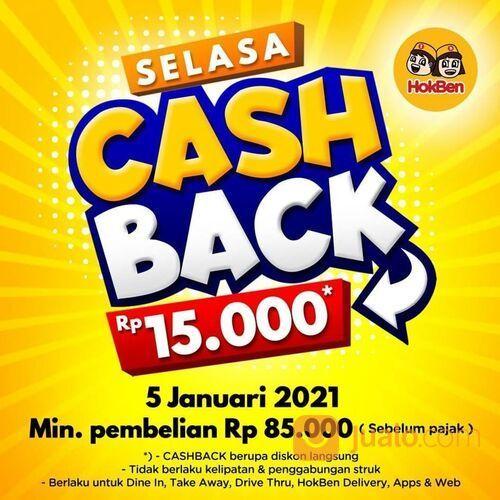 HokBen Selasa Cashback Rp 15.000 (29242303) di Kota Jakarta Selatan