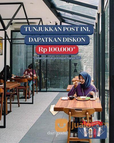 Kopi DariPada Promo Pot. 50% (maks 100rb) untuk setiap pemesanan Dari Pada (29282779) di Kota Jakarta Selatan