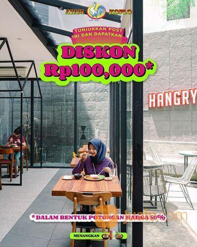 Ayam Koplo DISKON Rp100,000 !!! (dalam bentuk potongan harga 50%) (29283805) di Kota Jakarta Selatan