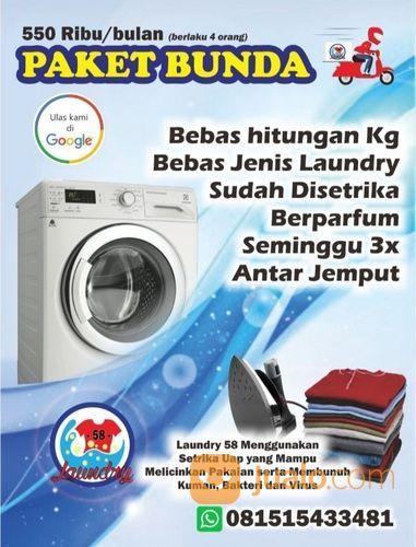 PAKET LAUNDRY UNTUK BUNDA (29290889) di Kota Mojokerto