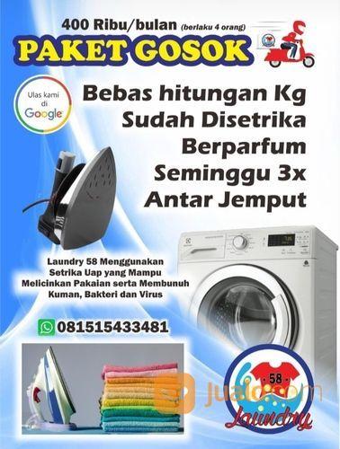 PAKET GOSOK/SETRIKA (29290918) di Kota Mojokerto
