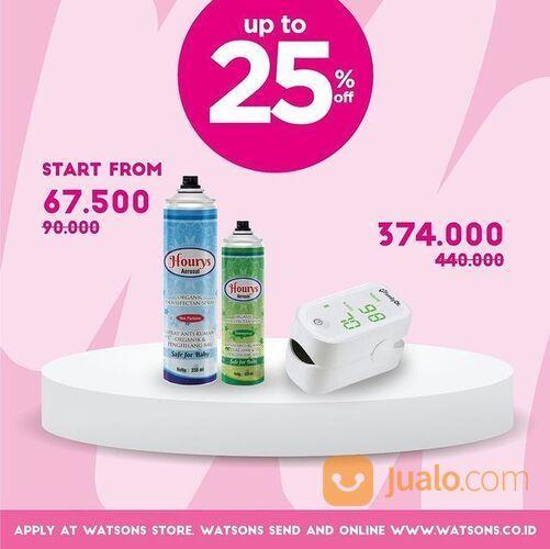 Watsons Promo New Normal Essentials hingga 50% (29292327) di Kota Jakarta Selatan