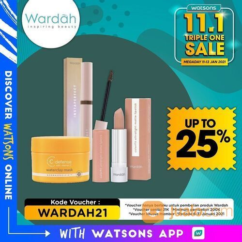 Watsons Promo Mega Day 11.1 Triple One (29292353) di Kota Jakarta Selatan