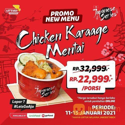 PROMO CHICKEN KARAAGE MENTAI (29292390) di Kota Jakarta Selatan