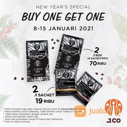 JCO Promo Buy 1 Get 1 JCOFFEE DRIP (29292409) di Kota Jakarta Selatan