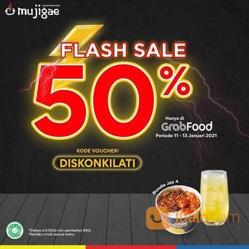 Mujigae NIKMATI FLASH SALE 50% MUJIGAE DI GRABFOOD! (29292411) di Kota Jakarta Selatan