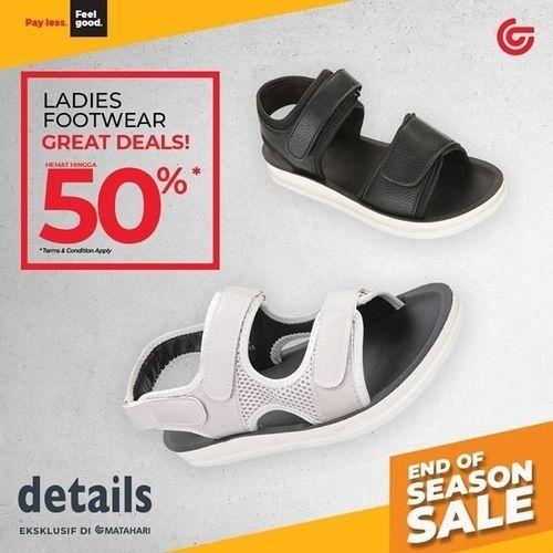 MATAHARI Payless Promo Great Deals 50% (29292526) di Kota Jakarta Selatan