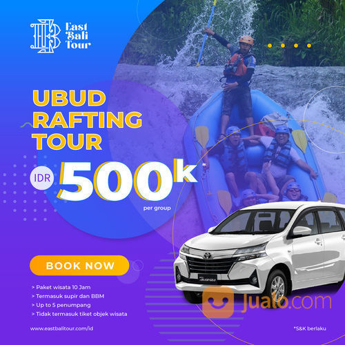 Ubud Telaga Waja Rafting Tour (29302133) di Kab. Badung