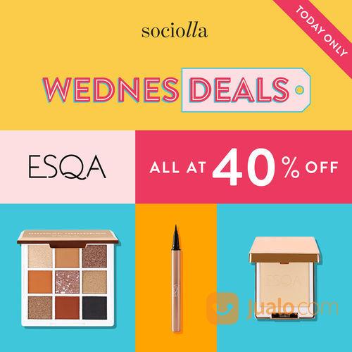 Sociolla ESQA Diskon 40% ALL ITEMS untuk produk-produk @esqacosmetics di Sociolla (29306025) di Kota Jakarta Selatan