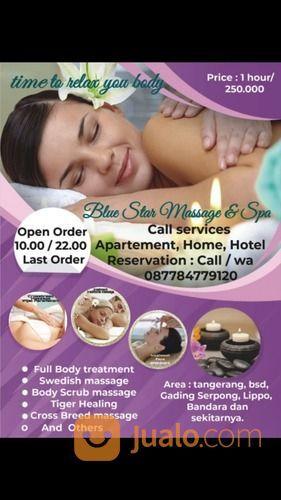 Blue Star Massage & Spa Online (29353633) di Kab. Tangerang