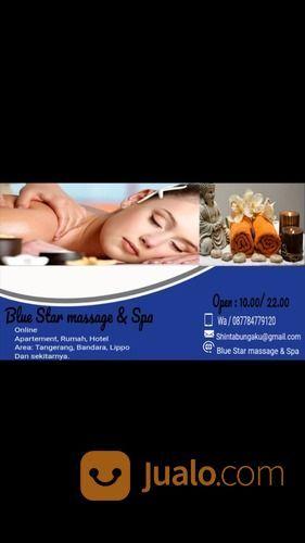 Blue Star Massage & Spa Online (29353635) di Kab. Tangerang