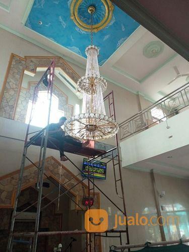 JASA PEMASANGAN, SERVICE, CUCI LAMPU HIAS KRISTAL JAKARTA (29370960) di Kota Jakarta Selatan