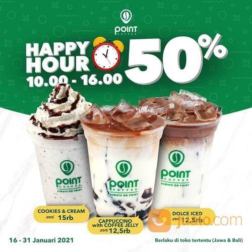 Point Coffee Promo #Special nih untuk Sobat di daerah JAWA & BALI (29379027) di Kota Jakarta Selatan