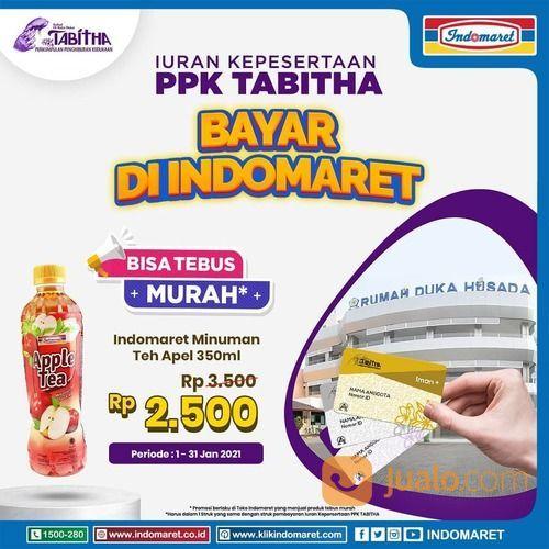 INDOMARET TEBUS MURAH 1 (satu) btl Minuman Teh Apel 350 ml hanya Rp2.500 (29379057) di Kota Jakarta Selatan