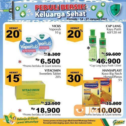 Giant harga promo untuk beragam produk kebersihan di Giant (29381201) di Kota Jakarta Selatan