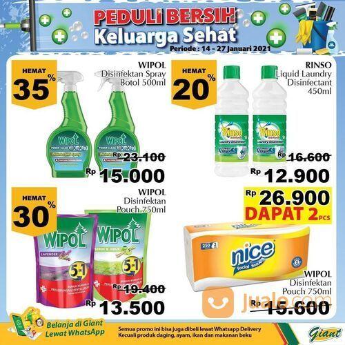 Giant Promo Produk Kebersihan Hingga 40% Diskon (29381246) di Kota Jakarta Selatan