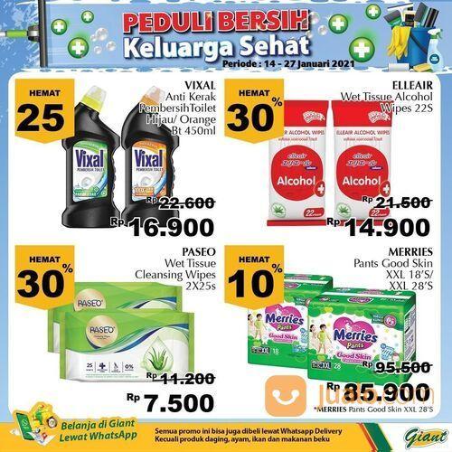 Giant Promo Produk Kebersihan Hingga 40% Diskon (29381249) di Kota Jakarta Selatan