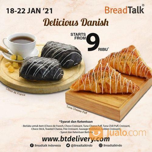 BreadTalk Delicious Danish!! Enjoy our favorite Danish start from 9rb* (29381538) di Kota Jakarta Selatan